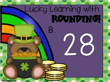 St. Patrick's Day Digital Rounding Centers
