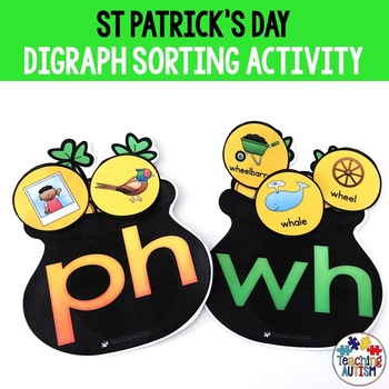 St. Patrick's Day Digraph Sorting