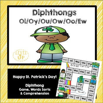 St. Patrick's Day Diphthong Game