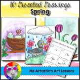 Spring Directed Drawing