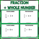 St Patrick's Day Dividing Fractions Task Cards