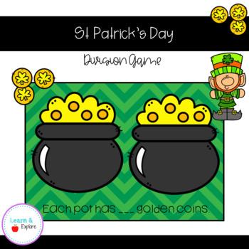 St. Patrick's Day - Dividing Game