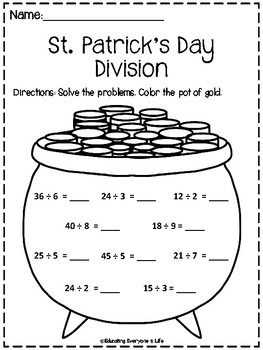 St. Patrick's Day Division