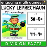 Saint Patrick's Day Division Facts Game
