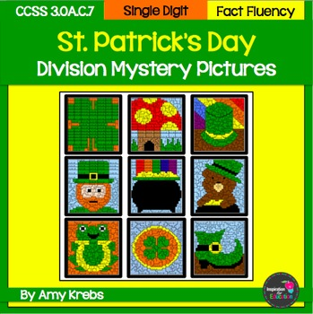 St. Patrick's Day Division Mystery Pictures