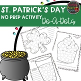 St. Patrick's Day No Prep Activities