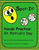 St. Patrick's Day Spot It/Dobble/Vocabulary Game