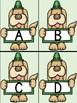St. Patrick's Day Dog Alphabet Letter Flashcards Uppercase