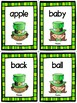St. Patrick's Day Dolch Sight Word Noun Flashcards
