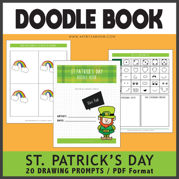 St. Patrick's Day Doodle Book