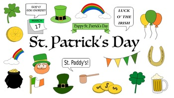 St. Patrick's Day Doodle Clipart