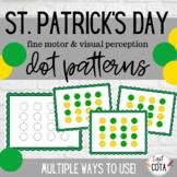 St. Patrick's Day Dot Patterns