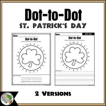 St. Patrick's Day Dot-to-Dot / Connect the Dots