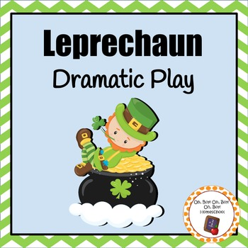 St. Patrick's Day Leprechaun Dramatic Play Area