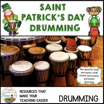 St Patrick's Day Drumming