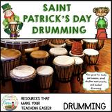 St Patricks Day Bucket Drumming