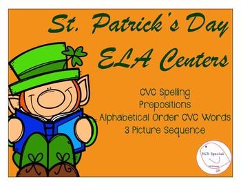 St. Patrick's Day ELA Centers