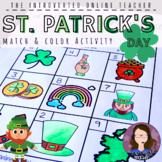 St. Patrick's Day ELA/ESL/EFL Vocabulary Coloring Activity