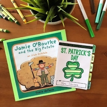 St. Patrick's Day ELA Lesson Plans: Ready-to-use St. Patrick's Day activities
