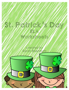 St. Patrick's Day ELA Worksheets