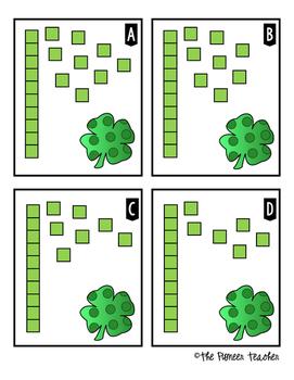 St. Patrick's Day ELA and Math Mini Bundle