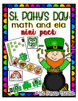 St. Patrick's Day ELA and Math Mini Bundle