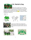 St. Patrick's Day ESL 1