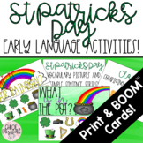 St. Patrick's Day Early Language Activities!