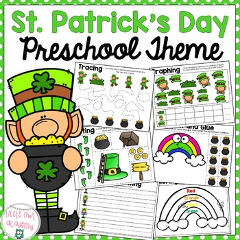 St. Patrick's Day Early Learning Preschool Packet