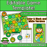 St. Patrick's Day Editable Game Template