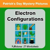 St. Patrick's Day: Electron Configurations - Mystery Pictures