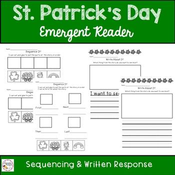 St. Patrick's Day- Emergent Reader