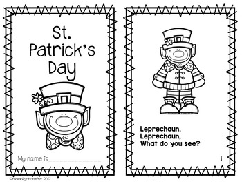 St. Patrick's Day Emergent Reader Crown and Printable Fun