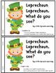 St. Patrick's Day Emergent Reader -Leprecahun Leprechaun,