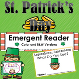St. Patrick's Day Emergent Reader: Leprechaun, Leprechaun