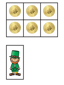 St Patrick's Day Emergent Reader: Positional Concepts!