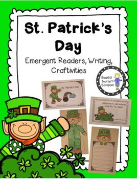 St. Patrick's Day Emergent Reader and Craftivity