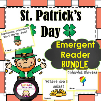 St. Patrick's Day Emergent Readers Bundle