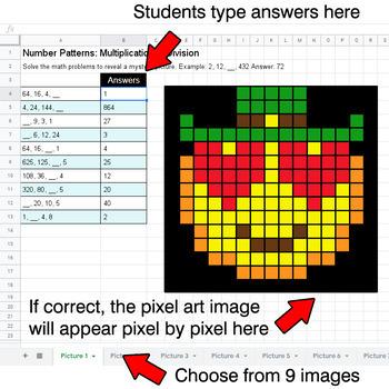 St. Patrick's Day Emoji - Number Patterns: Multiplication & Division - Google
