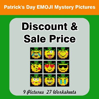 St. Patrick's Day Emoji: Sale Price, Discount, Savings - Color By Number
