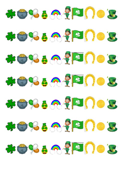 St. Patrick's Day Emoji Story
