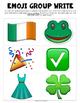 St. Patrick's Day Emoji Writing Prompt