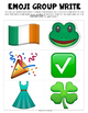 St. Patrick's Day Emoji Writing Prompt