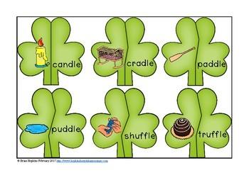 St. Patrick's Day Ending LE Puzzles