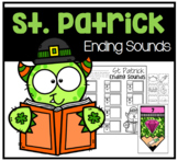 St. Patrick's Day Ending Sounds Phonemic Awareness Center