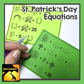 St. Patrick's Day Equations