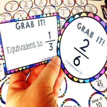 St. Patrick's Day Equivalent Fractions Game