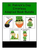St. Patrick's Day Errorless  Adapted Book Bundle