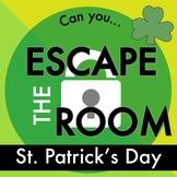 St. Patrick's Day Escape Room