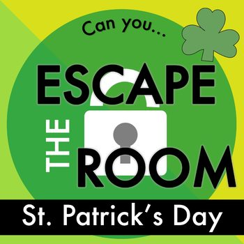 St. Patrick's Day Escape Room by Sarah's STEM stuff | TpT